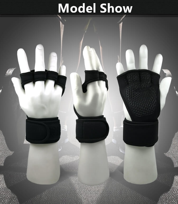 Half Finger Sports Gym Gloves Weightlifting Cycling Gloves