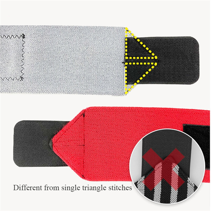 Fitness Adjustable Straps Gym Weight Lifting Durable Wrist Support