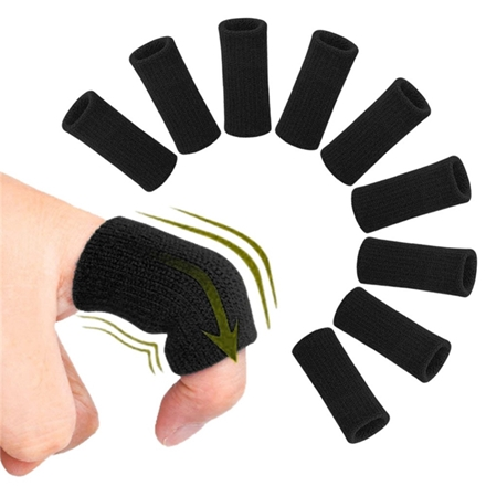 Stretchy Sports Finger Sleeves Arthritis Support Finger Basketball Volleyball Finger Protection
